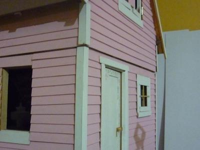 Mi primer casa de muñecas, (como hacer una casa de muñecas)
