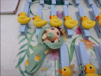 Pasta Flexible-Invasion de patitos-Recuerditos para Baby shower