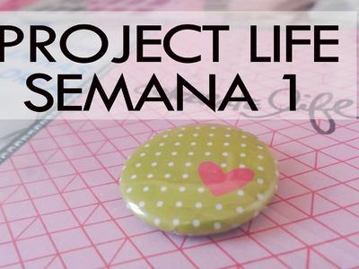 Project life 2015. Semana 1