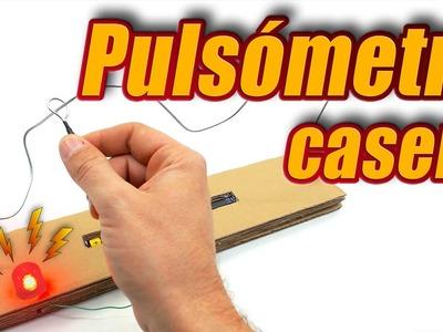 Pulsómetro casero, cómo se hace