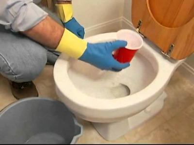 Reemplazar e instalar un inodoro