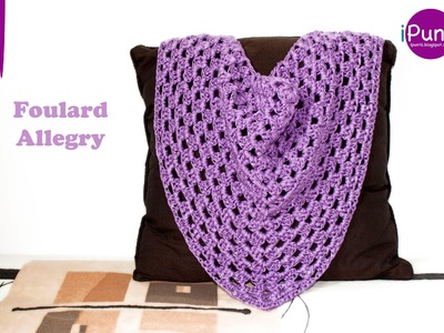 Tutorial Foulard Allegry paso a paso