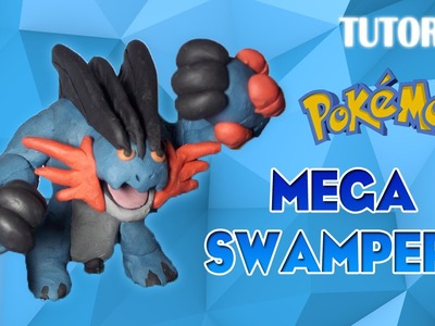 Tutorial Mega Swampert en Plastilina. Pokemon. How to make Mega Swampert with Plasticine