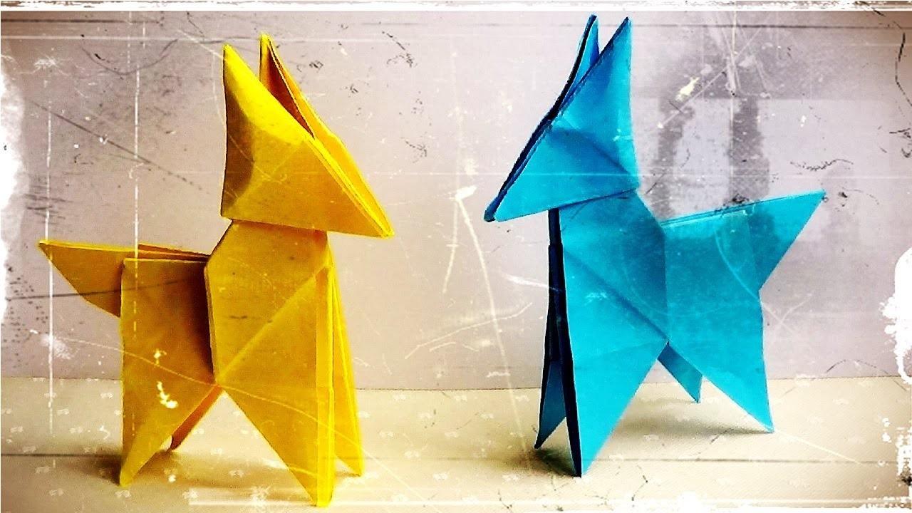 Zorro de Papel - Origami