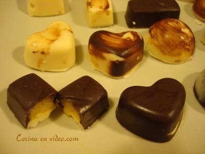 Bombones caseros rellenos #185 - Homemade filled Chocolates - Cocina en video.com