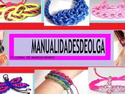 CANAL DEDICADO AL MUNDO DIY. APRENDERAS TECNICAS DE MACRAME. A HACER PULSERAS, ANILLOS Y MAS