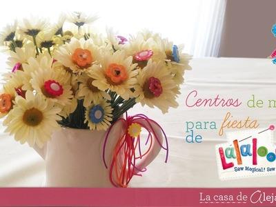 Centro de mesa de Lalaloopsy - DIY  Lalaloopsy center pice