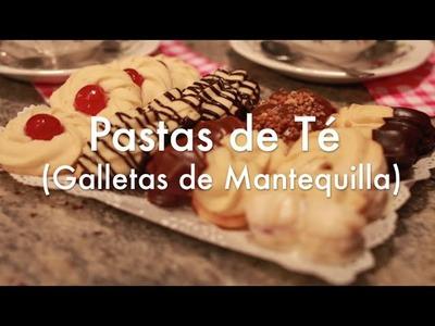 Cómo hacer Galletas de Mantequilla o Pastas de Té
