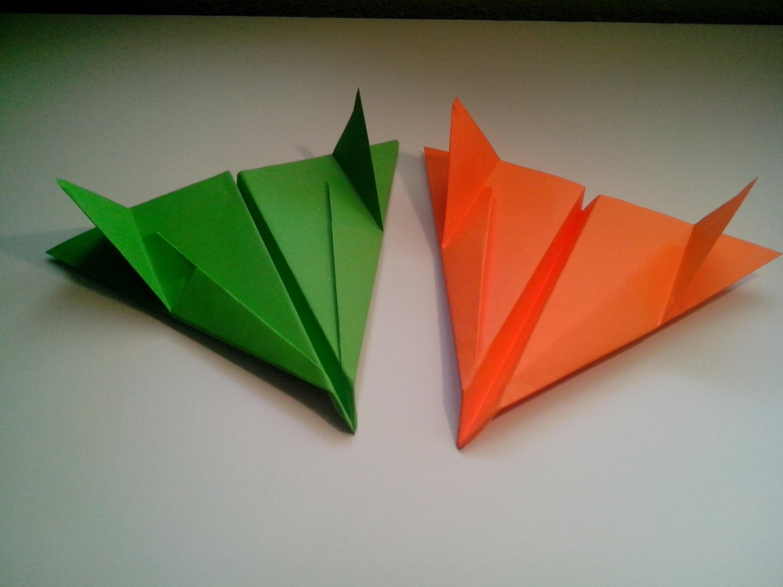 Como hacer un avion de papel bombardero (sencillo)