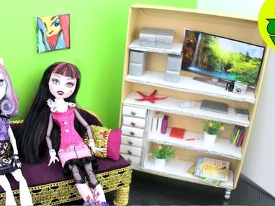 Cómo hacer un librero realista para tus muñecas - Manualidades para muñecas: