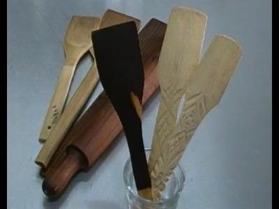 Cómo sellar utensilios de madera.-LuzMa CyR