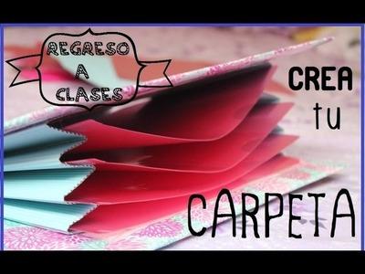 CREA TU CARPETA -FACIL ♥ #RegresoAClases