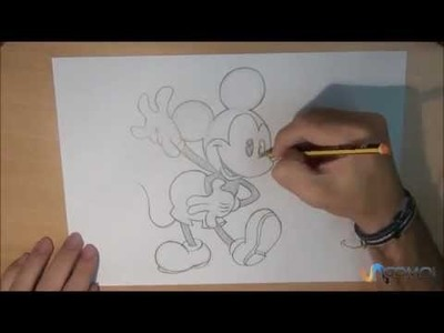Dibujar a Mickey Mouse