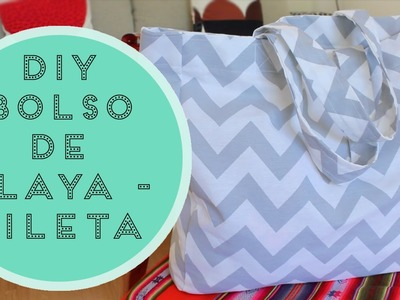 DIY • BOLSO DE PLAYA.PILETA