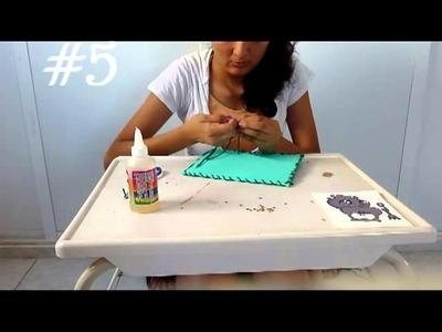 DIY- ESTUCHE DE FOAMI!--FACIL Y BONITO!!