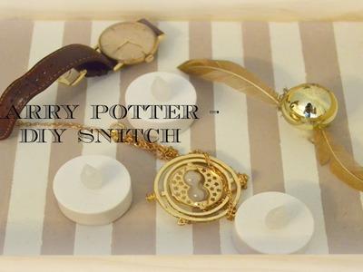 DIY- Harry potter, Snitch dorada.  | Merce Limón
