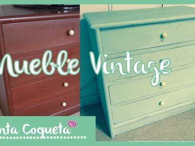 DIY: Muebles Vintage :)
