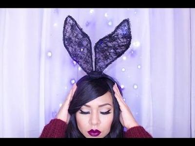 Manualidades: Orejas de conejo en encaje - Juancarlos960