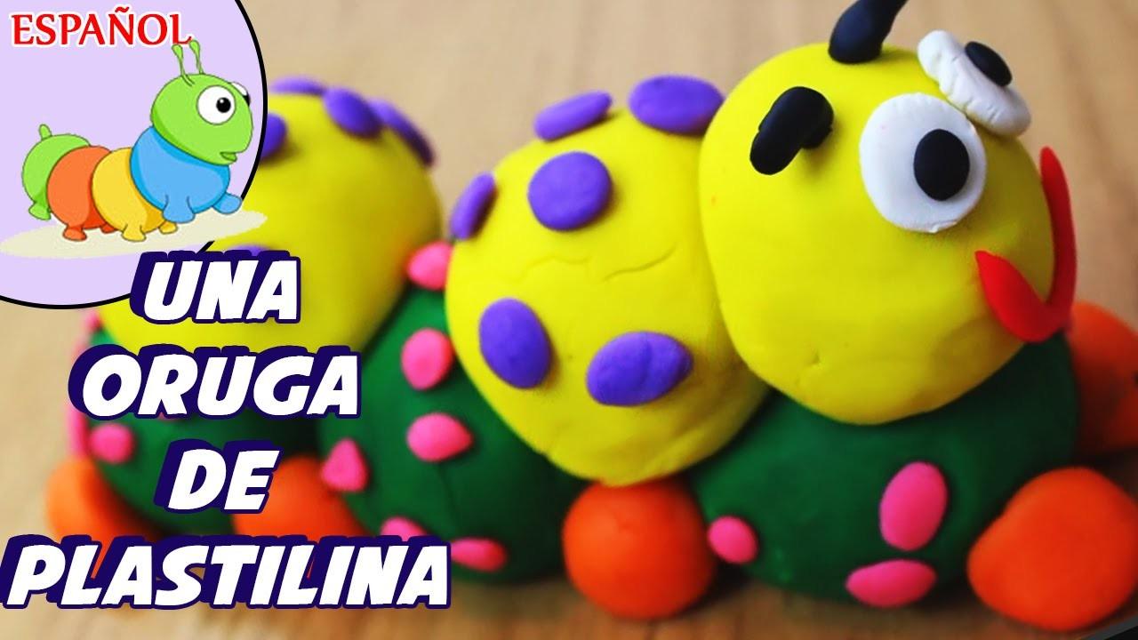 Play doh caterpillar | Cómo Hacer Una Oruga de Plastilina | Play Doh - Spanish