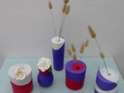 Reciclado de vasos de cristal  con globos - Recycling glass tumbler with balloons