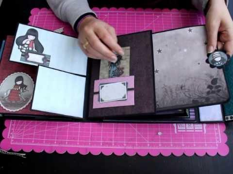 Album Gorjuss Nueva Colección Bellaluna crafts Scrapbooking