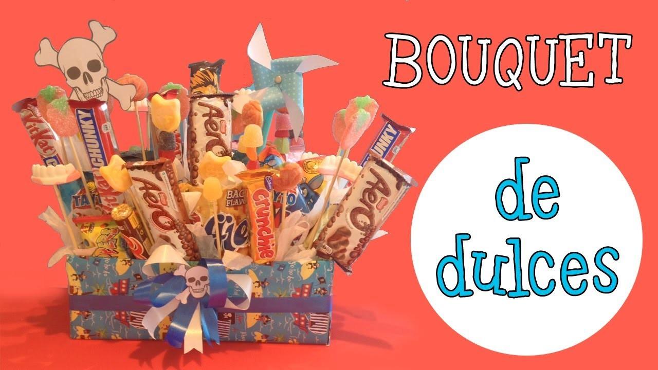 Bouquet de dulces | Decoración de fiestas infantiles