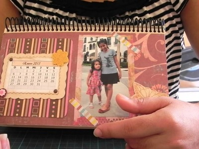 Calendario Scrapbook