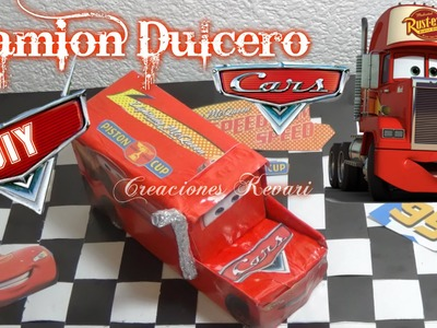 Camion Dulcero o Bolsita de Cars Material Reciclado. DIY Tutorial Mack Truck