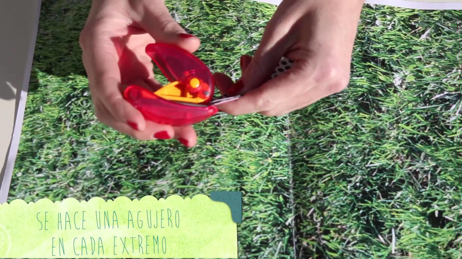 ChildrensLAB Craft #3 Adornos navideños diy