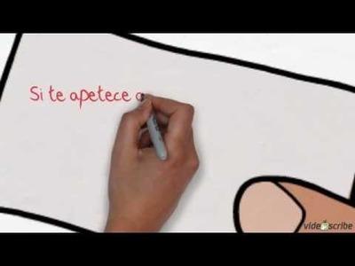 Como hacer un doodle, un vídeo escrito o dibujado de manera sencilla