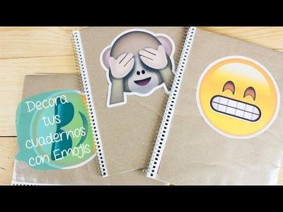 Decora tus cuadernos con EMOJIS | REGRESO A CLASES. BigCrafts