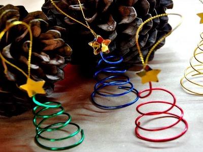 DIY : Adorno Arbolito De Navidad - Brotes De Creatividad
