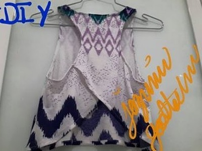 DIY Blusa Juvenil 2015  Teenage Blouse