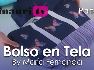 DIY - Bolso en Tela By María Fernanda (B2.2)( Hand made Tote. Bags. Purses. Handbags. Wallet )