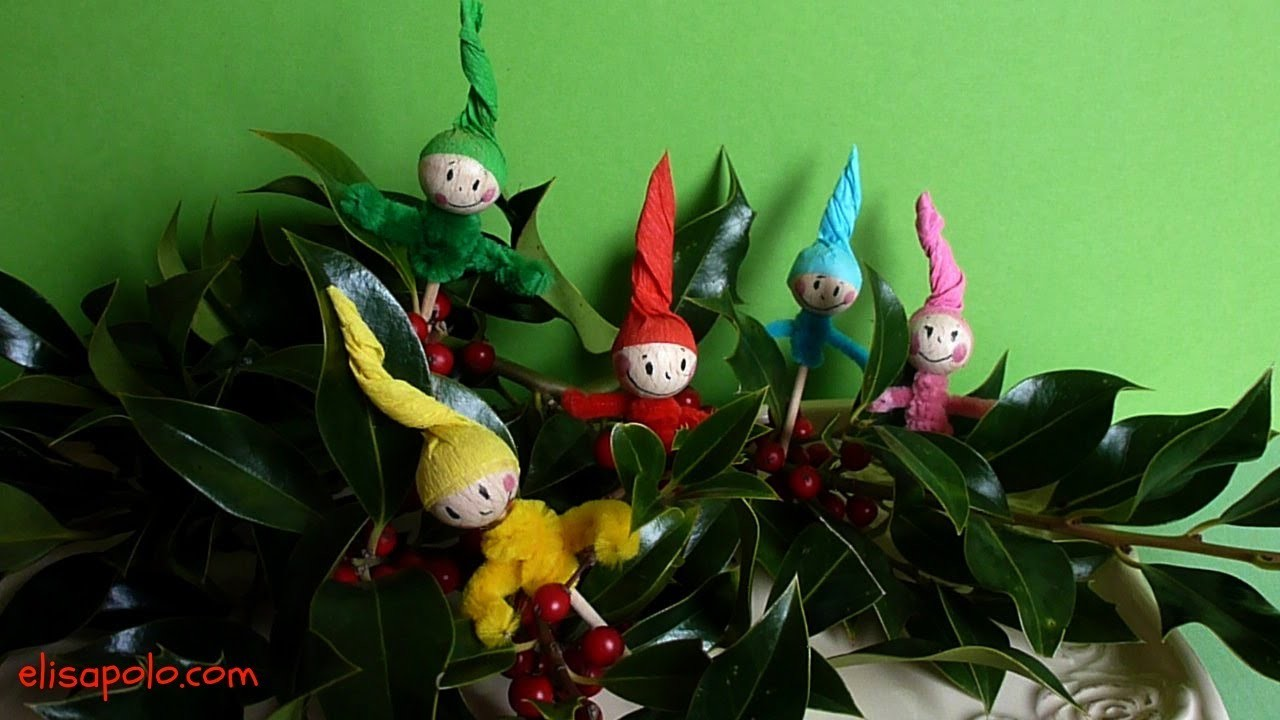 DIY, Decoración de Navidad, Christmas Decoration, Christmas Kids Crafts