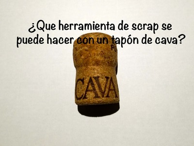 DIY Herramienta de scrap facil, barata y rapida tip homemade easy scrap tool