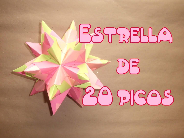 Estrella de 20 Picos