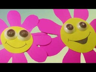 Flores de pared para Pre-K