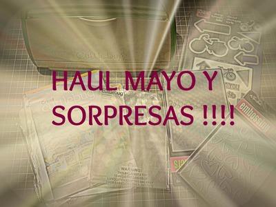 Haul Mes de Mayo articulos de scrapbook y más - Yyyyy otras sorpresitas !!!!