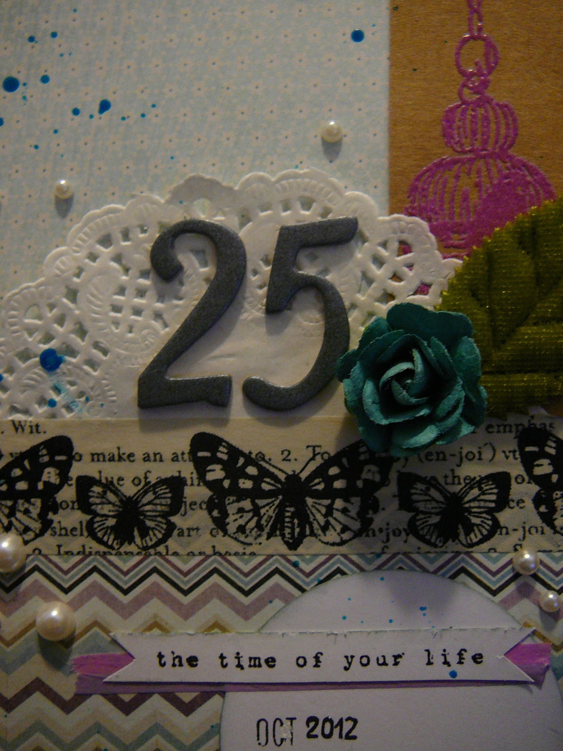 "How to ""25 card"" Scrapbooking"