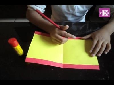 Kañe - Como hacer la carta a Santa Claus (manualidades para niños)