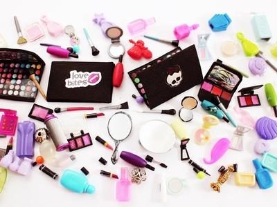 Manualidades para muñecas: Mi Colección de Cosmeticos. Maquillaje para la Casa de muñecas