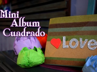 Mini Album Cuadrado Stand-up . Episodio 2: Crafting Studio