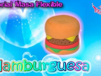 ♥ Tutorial: Hamburguesa de Masa Flexible ♥