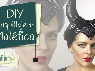 Tutorial Maléfica | Maquillaje de malefica | Maleficent Makeup | Halloween 2014 DIY