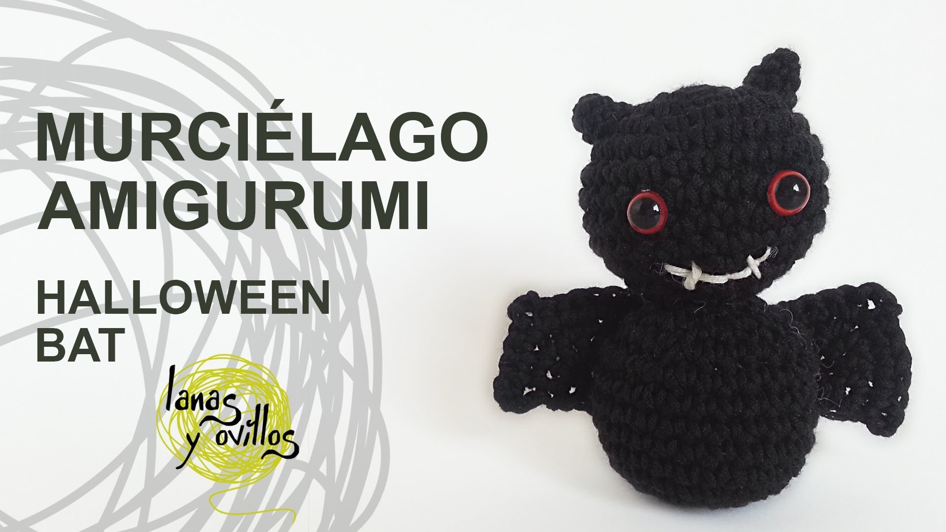 Tutorial Murciélago Amgirumi  Bat Crochet o Ganchillo (English Subtitles)