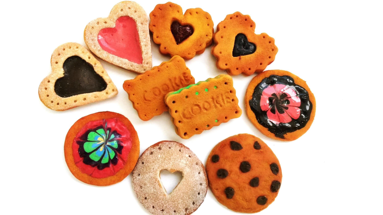6 Polymer Clay Cookies Tutorial: Chocolate chip, Biscuits | Tutorial Galletas de porcelana fría