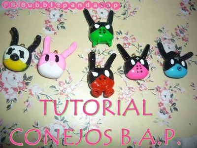Bap Bunnies polymer clay ❤