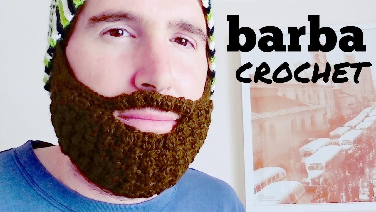 BARBA a crochet (ganchillo) paso a paso
