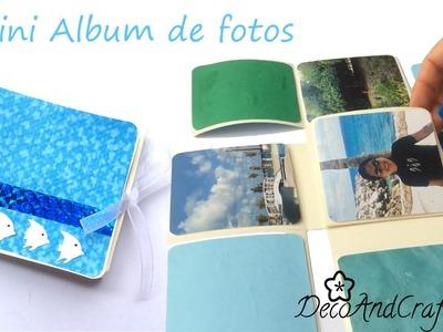 Carta. Mini álbum de fotos -  Scrapbook - DecoAndCrafts
